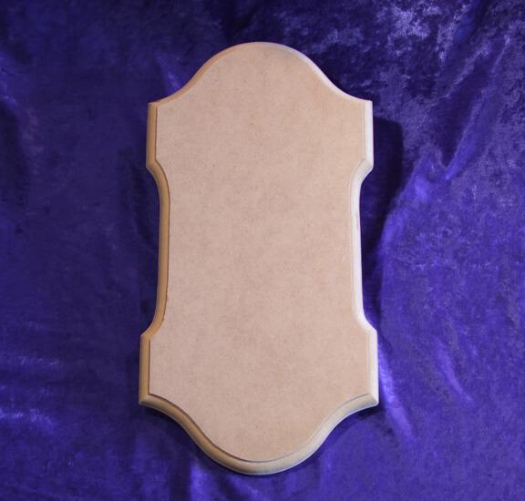 Klingelbrett Form B - Messing-Zawadski