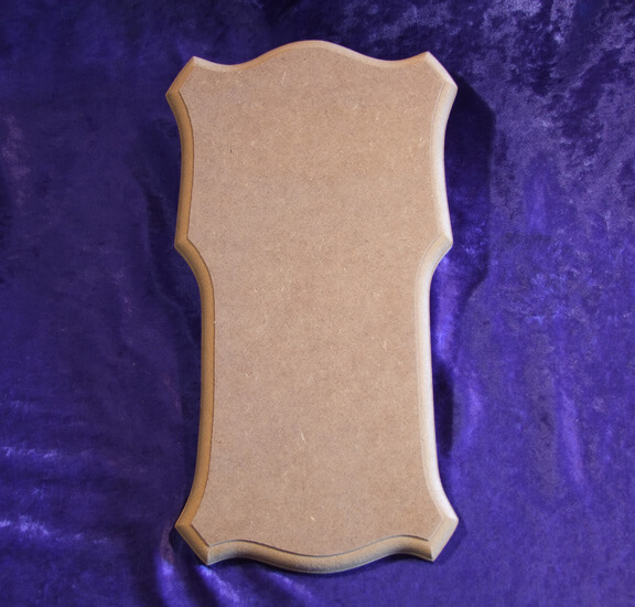 Klingelbrett Form G - Messing-Zawadski