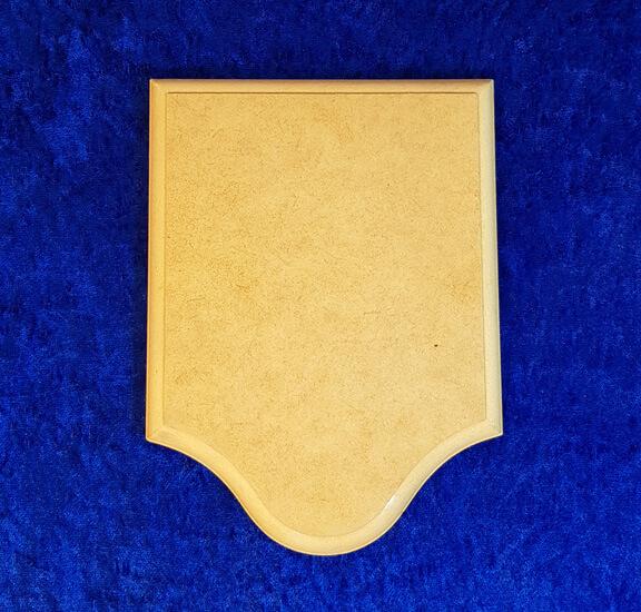 Klingelbrett Form I - Messing-Zawadski