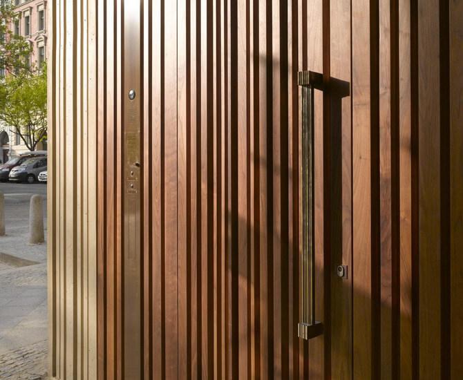 Referenz eines Ziehgriffs von Messing-Zawadski in einem Museum
