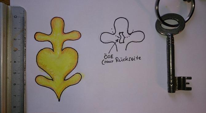 Zeichnung Nachguss - Messing-Zawadski